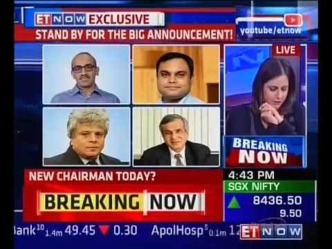 ET Now - TATA Group Chairman Announcement Today (featuring Rajiv Kumar)