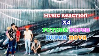 Hey Usagi Hitos! Here is my reaction to X4's Super Future Duper Nov...