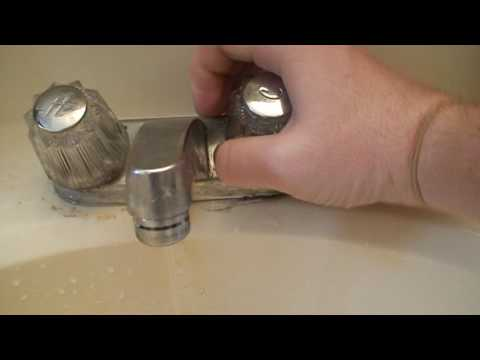 Bathroom Sink Really Hard To Turn Off Youtube