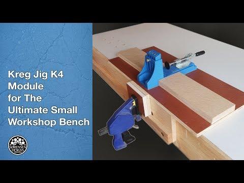 Kreg Jig K4 Module for The Ultimate Small Workshop Bench