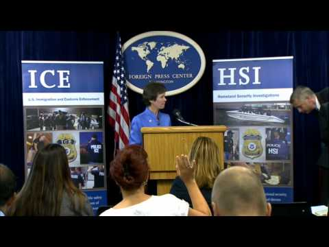 HSI Special Agent Mulhall and Program Manager Hardos Discuss ICE Homeland Security Investigations