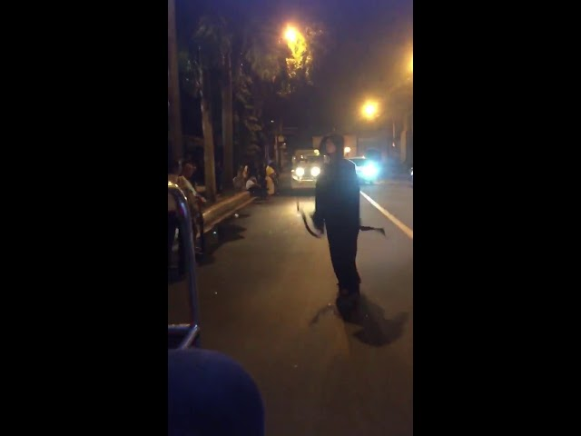 Skateboard Jabawokees spotted sa Pasig