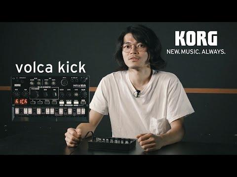 Présentation du KORG volca kick (vidéo de la boite noire)