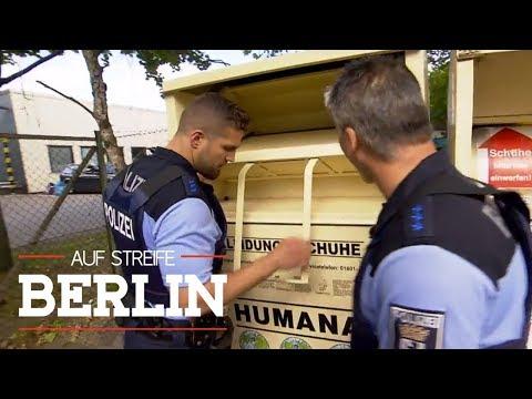 10-jähriger Junge in Altkleidercontainer geschmissen   Auf Streife - Berlin   SAT.1 TV