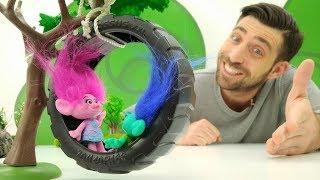 La Garderie de Romain le nounou № 4 : les Trolls. Vidéo en français pour enfants streaming