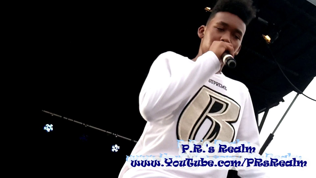 Lil Waah of Ruff Ryders (Performance at Jadakiss' Concert)