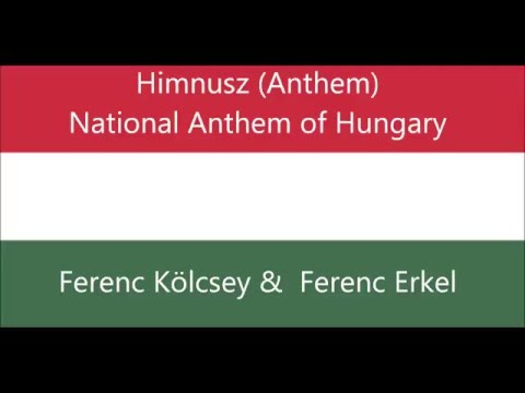 Hungarian National Anthem of Hungary songs Himnusz vocal easy sing-along with words lyrics