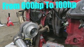 Taking the Turbo off my Race Car