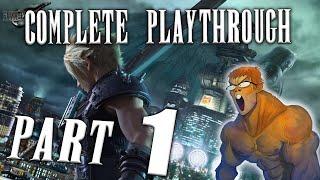 Final Fantasy 7 Remake Complete Playthrough [Part 1]