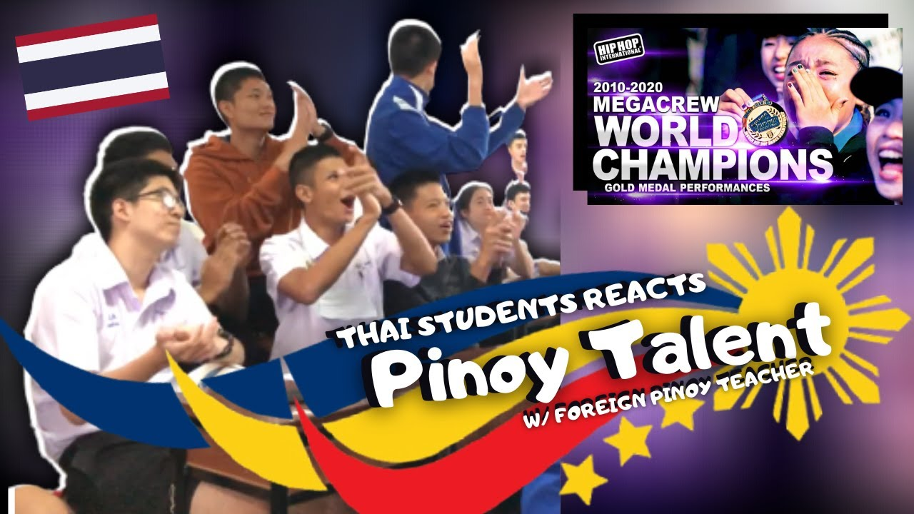 THAI STUDENTS REACTS UPeepz - Philippines at 2016 HHI World Finals (Gold Medalist MegaCrew Division)