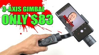 The Cheapest 3-Axis Smartphone Gimbal | $83 USD | Andoer S5 | Is It Worth It? [4K] 60fps