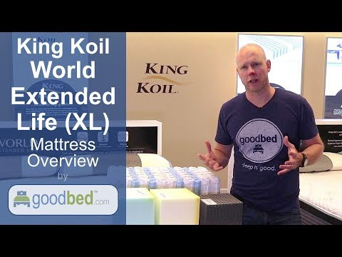 King Koil World (2019-2020) Extended Life (XL) Mattress Line EXPLAINED By GoodBed.com