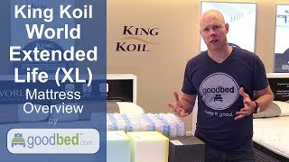 King Koil World Extended Life Mattresses Overview