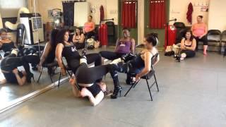3 Way Lap Dance with StripXpertease Instructors!