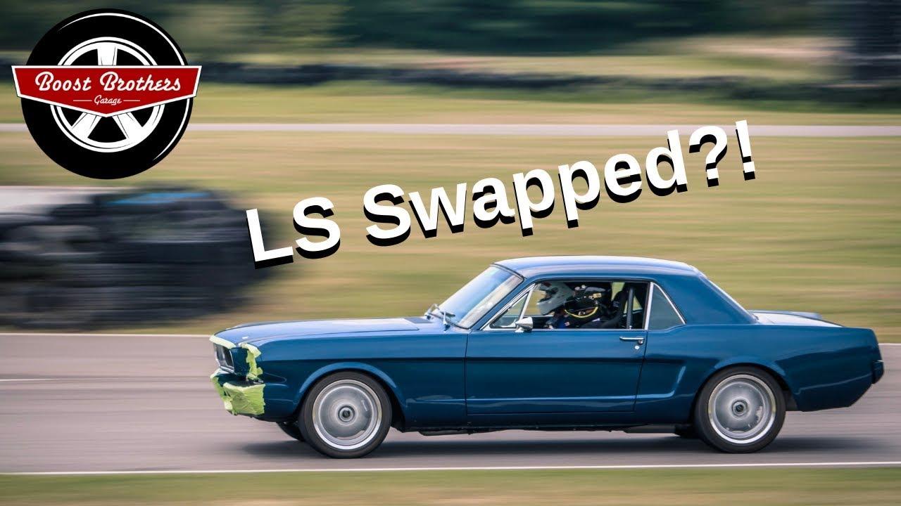 Dans ls swap 64 5 mustang ls swapped porsche 944 911