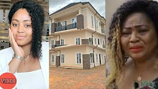 Regina Daniels And Her Mum In Tears As She Surprises Her With a Mansion