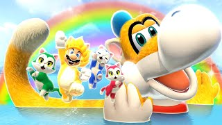 Super Mario 3D World + Bowser Fury Secret Final Boss + Ending