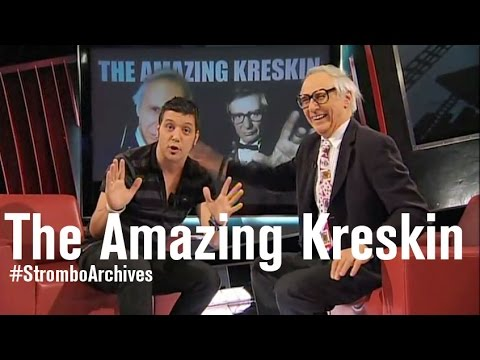 The Amazing Kreskin — Classic 2009 Strombo Interview