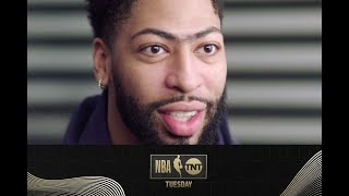Anthony Davis Tells Steve Nash about his First Season with the Lakers | NBA on TNT