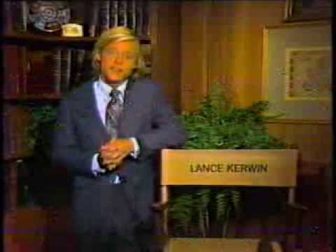 Lance Kerwin 1980 CBS Read More About It PSA