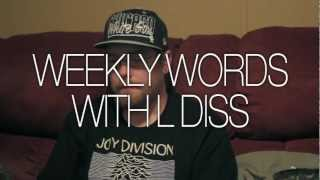 Weekly Words with L Diss - Won