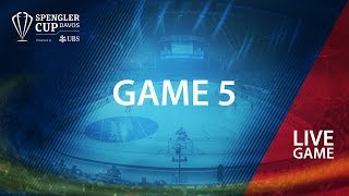 HC Lugano - Mountfield HK | Game #5 | Spengler Cup Davos 2016