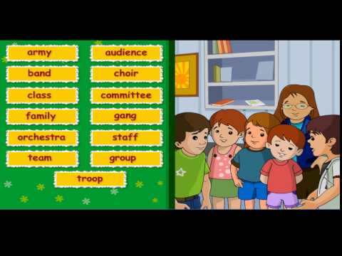 Collective Nouns and Classifiers - Class 5