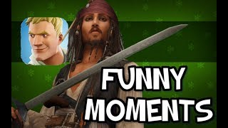 """NEW PIRATES COMING TO FORNITE"" Fortnite Funny Moments - Leaked Davy Jone Skin and Season 5 (Mobile)"
