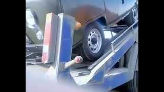 Загрузка УАЗа на автовоз(, 2014-12-28T14:48:59.000Z)