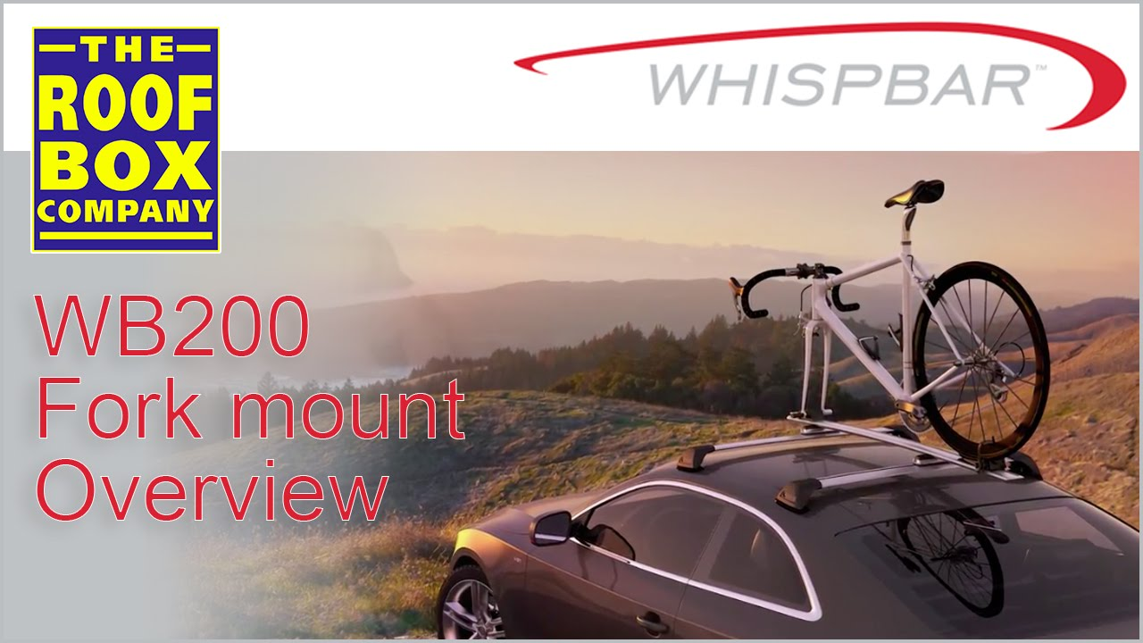 yakima whispbar wb200 fork mount mounted bike carrier