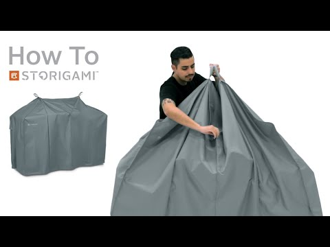 How to Fold: Storigami Easy Fold BBQ Grill Cover