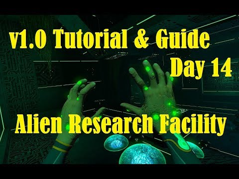 Subnautica V1.0 Tutorial Playthrough: Day 14 The Alien Disease Research Facility