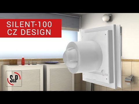 How to install a bathroom extractor fan Silent-100 CZ Design