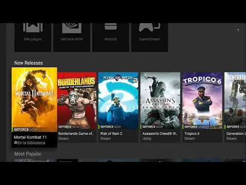 Mortal Kombat 11 ya está disponible para nvidia shield tv geforce now steam  android🎮🔥🔥🔥