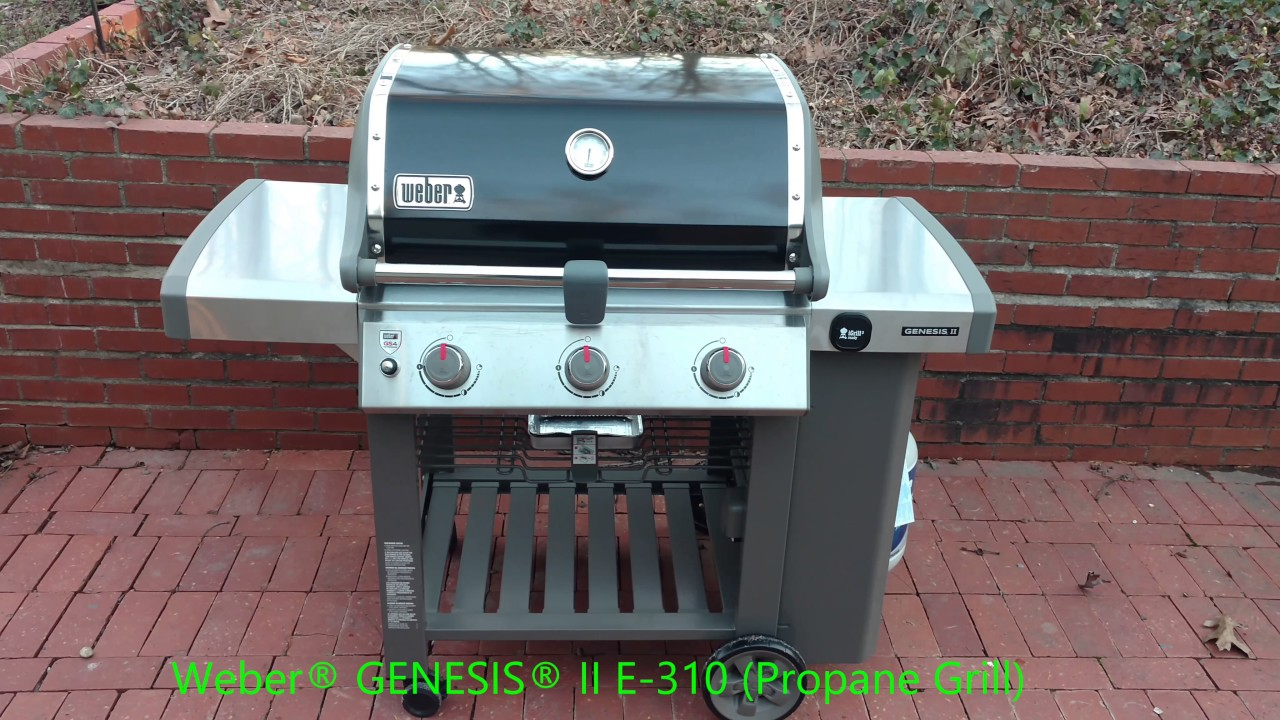 Barbecue Gaz Promotion Weber Genesis Ii E 310 Propane Gas Grill
