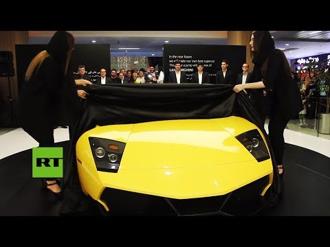 Ingenieros iraníes presentan un Lamborghini Murciélago SV de ingeniería inversa