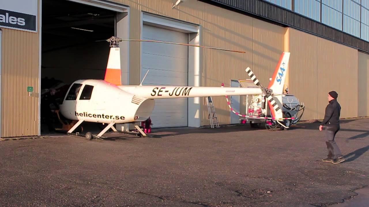 Helicopter documentary from Scandinavian Aviation Academy