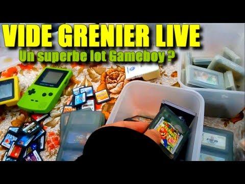 VIDE GRENIER LIVE - DU RETRO SPECIAL NINTENDO ! 17/10/2018
