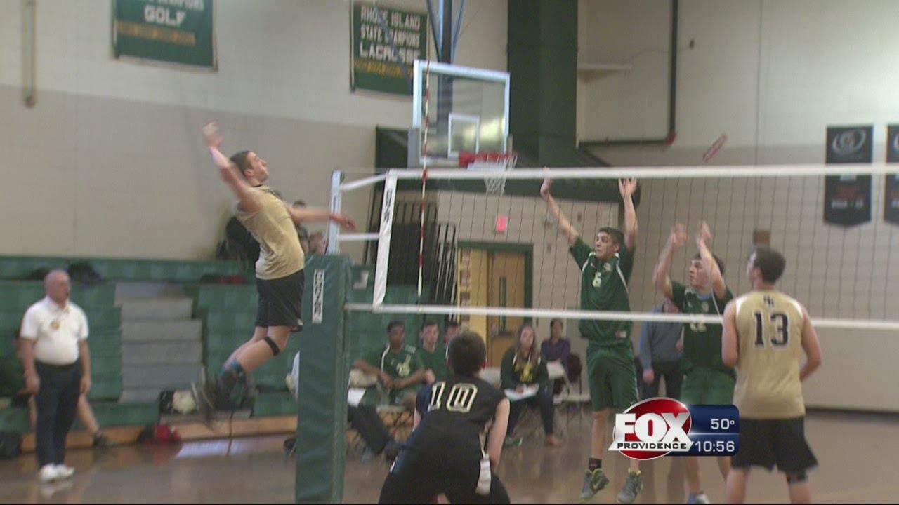 Hs Volleyball North Kingstown Defeats Hendricken Youtube