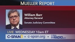 LIVE: Attorney General testifies on Mueller Report before Senate Judiciary Cmte (C-SPAN)