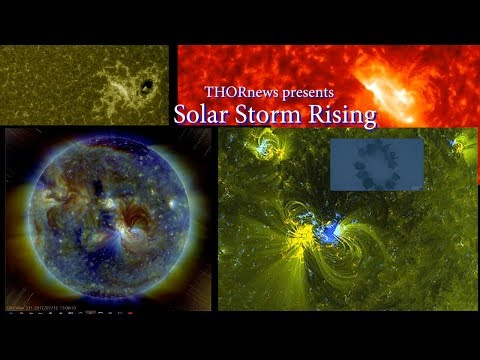SolarStorm Shockwave -  A Solar Particle Storm Rising