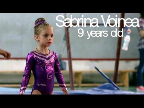 Sabrina Voinea - Amazing 9 year old Romanian gymnast!