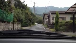 瑞浪市稲津町萩原地内を走って見た。