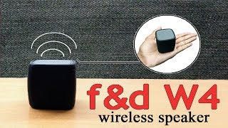 F&D w4 wireless bluetooth speakers-unboxing & Review!