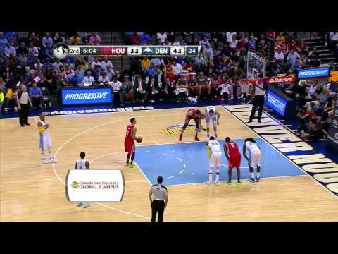 Jeremy Lin 林書豪 2014 04 09火箭vs金塊 Rockets vs Nuggets