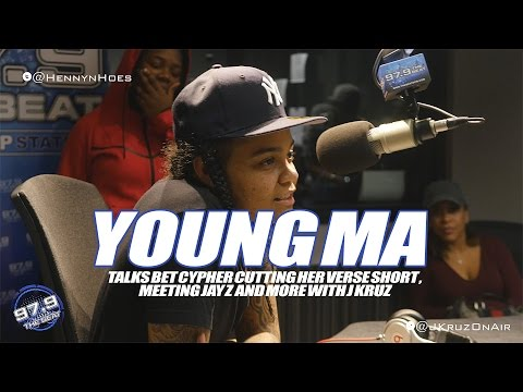 Young MA Interview Talks About BET Cypher Verse...