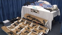 Guns, drugs seized in bust