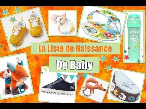Liste De Naissance De Baby Elijah Mes Envies Fr Youtube