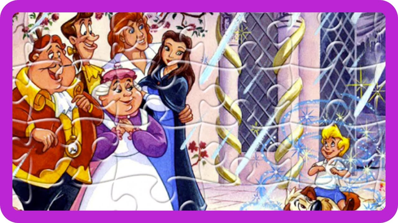 Disney Beauty And The Beast Jigsaw Puzzles