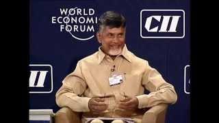 AP CM Chandrababu Naidu At India Economic Summit 2014